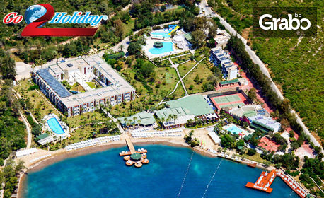 7 нощувки на база All Inclusive в Хотел Crystal Green Bay Resort & SPA 5*, Бодрум плюс самолетен билет
