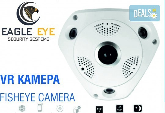 Панорамна VR камера Еagle eye security