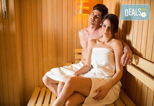 2 процедури сауна и чаша ароматен чай в SPA център Senses Massage & Recreation