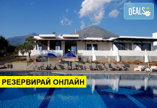 3+ нощувки на човек  в Samothraki Beach Apartments & Suites Hotel 3*, Макрилиес, о. Самотраки