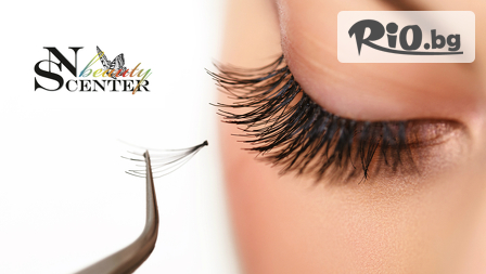 Поставяне на 3D мигли Russian Volume Lashes от NS Beauty Center