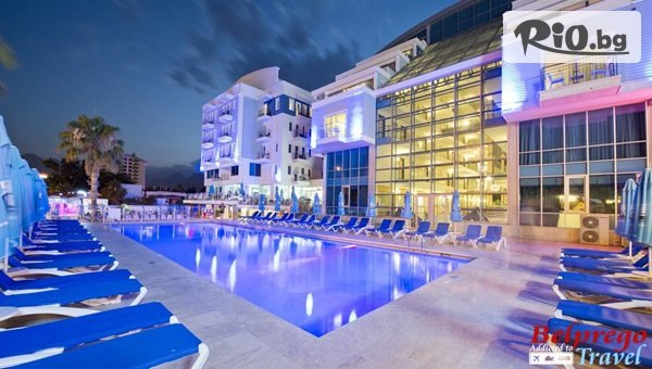 Нова година в Анталия, Турция! 4 нощувки на човек на база Аll Inclusive в Sealife Family Resort Hotel 5*