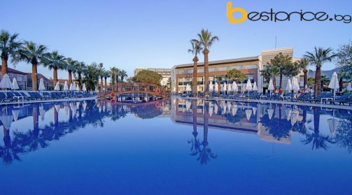 7 нощувки на база All Inclusive в PALM WINGS BEACH RESORT KUSADASI  5*, Кушадасъ + транспорт с автобус