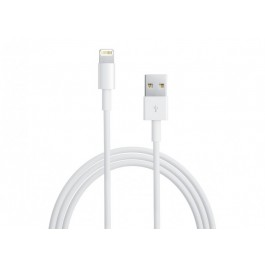 Оригинален USB кабел Lightning за iPhone 5 / 5S / 5C / 6 / 6S / 6 Plus, iPad4, iPad Mini - 2M