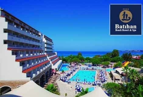 7 нощувки на база All Inclusive от BATIHAN BEACH RESORT & SPA 4*, Кушадасъ, транспорт
