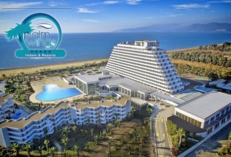 7 нощувки на база ULTRA All Inclusive от хотел PALM WINGS EPHESUS BEACH RESORT & SPA 5*, Кушадасъ, транспорт