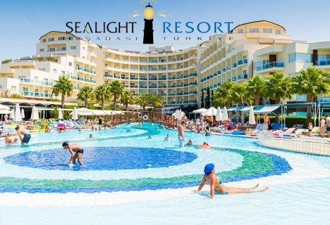 7 нощувки на база Ultra All Inclusive на човек от хотел Sealight Resort Hotel 5*, Кушадасъ