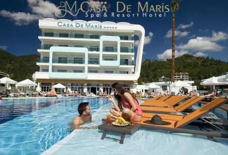 7 нощувки на база ultra all inclusive от хотел casa de maris spa and resort 5*, Мармарис, транспорт