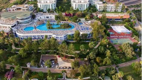 7 нощувки All Inclusive от хотел BODRUM HOLIDAY RESORT & SPA 5*, Бодрум, самолетен билет