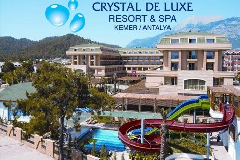 7 нощувки на база ULTRA All Inclusive в хотел CRYSTAL DE LUXE RESORT&SPA 5*, Анталия, самолетен билет