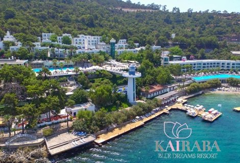 7 нощувки ultra all inclusive от kairaba blue dreams resort and spa 5*, Бодрум, самолетен билет