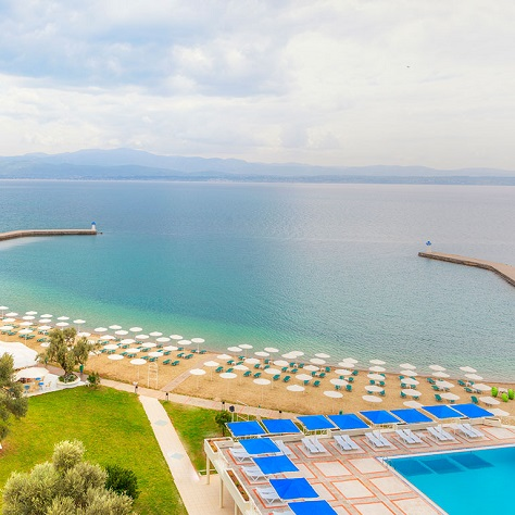 3 нощувки Ultra All Inclusive на човек в PalmaRiva Beach 4*+ – Евия