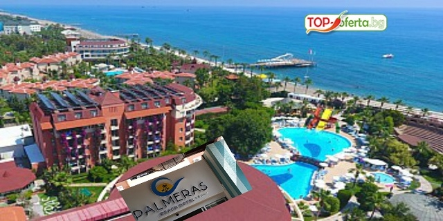 7 нощувки на база ULTRA ALL INCLUSIVE на човек в PALMERAS BEACH 5*, Алания