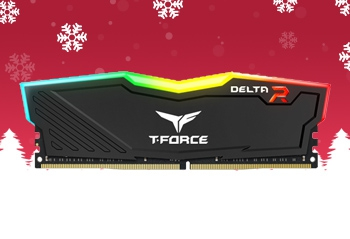 Памет 16GB DDR4 2666 Team Group T-Force Delta RGB - 16G DDR4 2666 TEAM DELTA R BLK