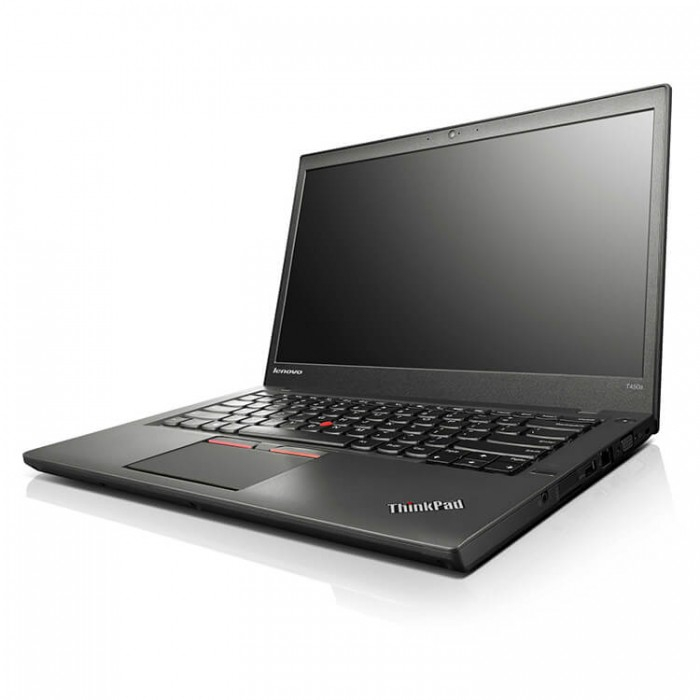 Лаптоп Lenovo ThinkPad T450 с процесор Intel Core i5, 5200U 2200Mhz 3MB 2 cores, 4 threads, 14, RAM 8192MB So-Dimm DDR3L, 128 GB 2.5 Inch SSD