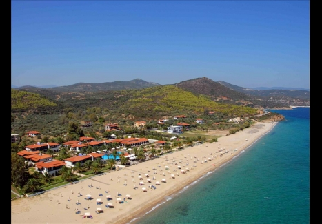 3 нощувки на база All Inclusive на човек в Bomo Assa Maris Beach 4*, Халкидики